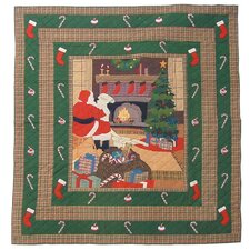 Santa By the Fireside Quilt Collection