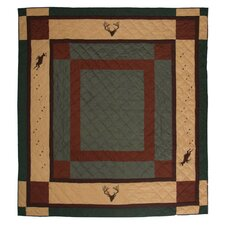 Deer Trail Cotton King Quilt