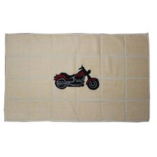 <strong>Patch Magic</strong> Motorcycle Bath Mat