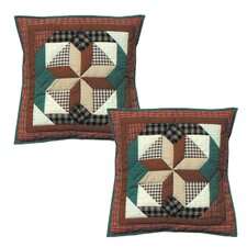 <strong>Patch Magic</strong> Giftwrap Cotton Toss Pillow (Set of 2)