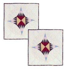Hidden Circle Cotton Toss Pillow (Set of 2)
