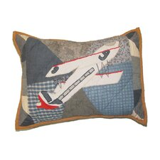 Airplane Crib Cotton Toss Pillow