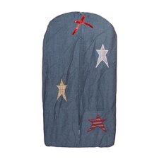 Homespun Stars Diaper Stacker