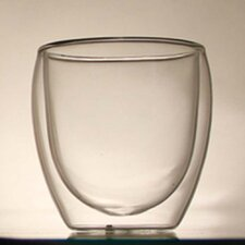 Double Layer Glass Tea Cup