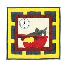 <strong>Patch Magic</strong> Cats Tale Cotton Toss Pillow