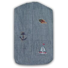 <strong>Patch Magic</strong> Nautical Cotton Diaper Stacker