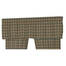 "Four Seasons Plaid Rod Pocket 54"" Curtain Valance"