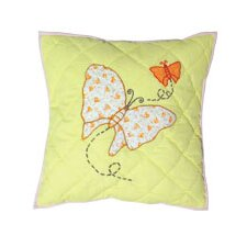 Sundress Butterfly Toss Pillow