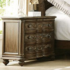 Jessica Mcclintock Boutique 3 Drawer Nightstand
