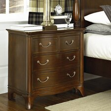 New Generation 4 Drawer Nightstand