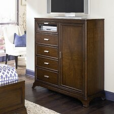 <strong>American Drew</strong> Essex 4 Drawer Media/Accent Gentleman's Chest