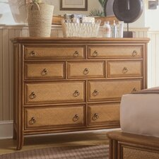 Antigua Tall Drawer 9 Drawer Dresser