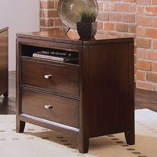 <strong>American Drew</strong> Tribecca 2 Drawer Nightstand