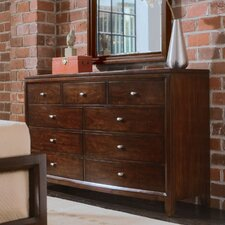 <strong>American Drew</strong> Tribecca Dressing 9 Drawer Dresser