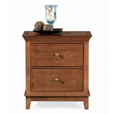 Sterling Pointe 2 Drawer Nightstand