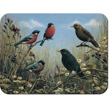 Tuftop Blackbird and Bullfinch Cutting Board