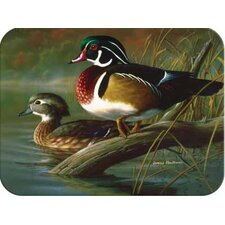 Tuftop Wood Ducks Cutting Board