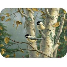 Tuftop Chickadees Cutting Board