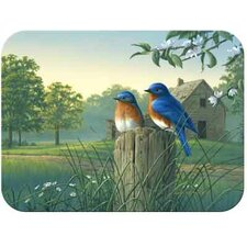 <strong>McGowan</strong> Tuftop Country Morning Bluebirds Cutting Board