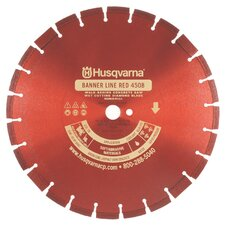 Banner Line Red 450B-R Super Premium Walk Behind Saw Diamond Blades