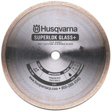 Superlok Glass + Premium Diamond Blades