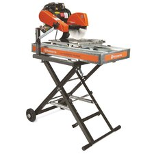 "Tilematic TS 250 X3 1.5 HP 220 V 10"" Blade Diameter Electric Tile Saw"