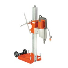 DS800 Diamond Core Drill Rig with Milwaukee 4096 Motor, Roller Carr and Anchor Base