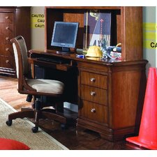 "<strong>Lea Industries</strong> Elite Classics 54"" W Computer Desk with Keyboard Shelf"