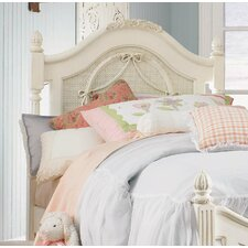 Emma's Treasures Low Poster Headboard with Deluxe Heavy Duty Frame