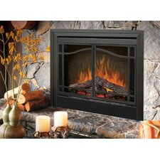 "Electraflame 33"" Glass Swing Doors for Built-In Electric Firebox"