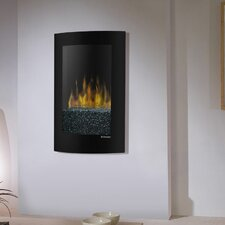 <strong>Dimplex</strong> Electraflame Convex Wall Mount Electric Fireplace
