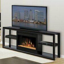 "Novara 64"" TV Stand with Electric Fireplace"