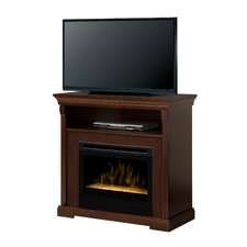 Thorton Media Console Electric Ember Bed Fireplace