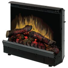 "Electraflame 23"" Deluxe Electric Fireplace Insert with LED Logs"