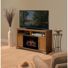 "<strong>Dimplex</strong> Brookings 53"" TV Stand with Electric Log Fireplace"