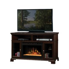 """Brookings 53"""" TV Stand with Electric Fireplace"""