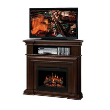 "Montgomery 47"" TV Stand with Electric Log Fireplace"