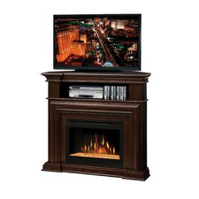 "Montgomery 47"" TV Stand with Electric Ember Bed Fireplace"