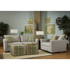 Addison Arm Chair and Ottoman