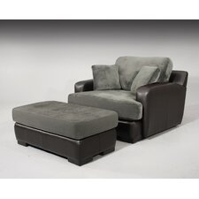 Rosaline Chair and Ottoman