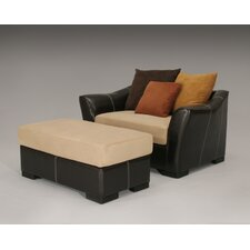 Allegra Chair and Ottoman