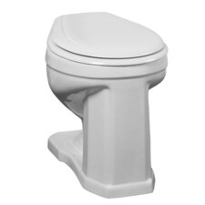 <strong>Barclay</strong> Victoria High 1.6 GPF Round Toilet Backspud Toilet Bowl Only