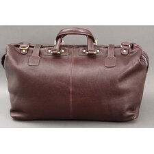 "<strong>Dr. Koffer Fine Leather Accessories</strong> Addison 18"" Weekend Duffel"