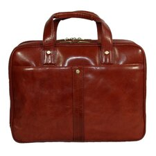 <strong>Dr. Koffer Fine Leather Accessories</strong> Kevin Leather Laptop Briefcase