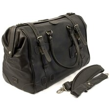 "Kipling 10"" Leather Travel Duffel"