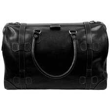 "Chaucer 18"" Leather Carry-On Duffel"