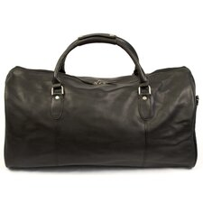 "<strong>Dr. Koffer Fine Leather Accessories</strong> Kipling 23"" Leather Carry-On Duffel"