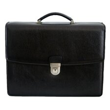 Barry Leather Laptop Briefcase