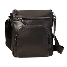<strong>Dr. Koffer Fine Leather Accessories</strong> Small Shoulder Bag