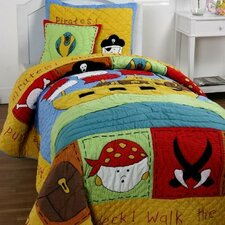 Treasure Island 3 Piece Quilt Set